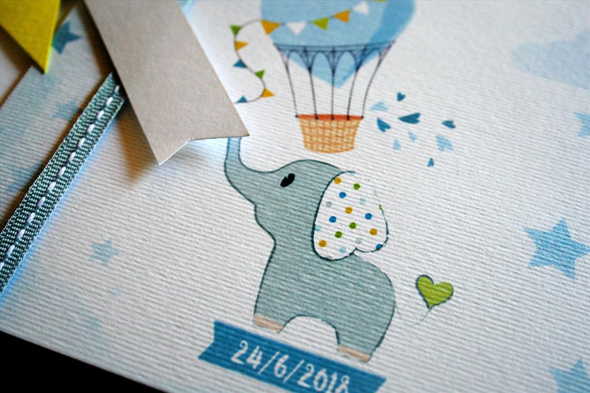 Baby Elephant Christening -