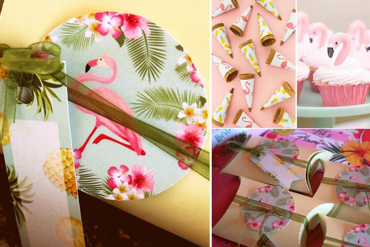 Flamingo Girl -